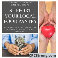 Make a Donation To Our Local Food Banks
