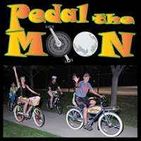 Full moon equals full-family fun at annual cycling event