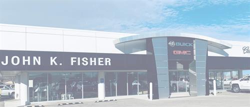 John K Fisher, Inc Since 1955 your local GM Dealership...