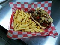 Thursday Daily Special - Philly Cheesesteak with hand cut fries!