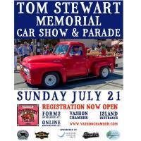 2019 Tom Stewart Classic Car Parade Registration