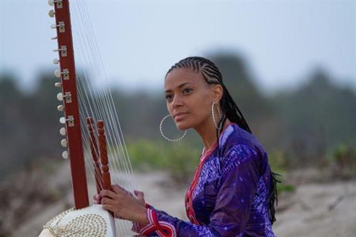 Sona Jobarteh, the world's first female Kora virtuoso, performed a sold-out show at Open Space in 2019