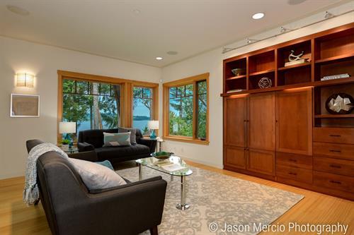 Custom Vashon view home