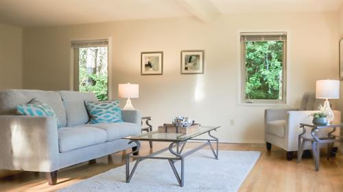 Vashon home staging, sold in 14 days for $36,000 over asking price!