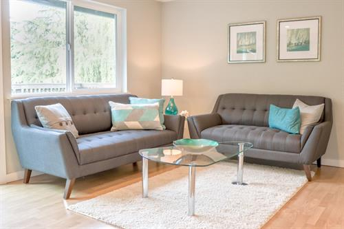 Vashon Home Staging. Sold in just 3 days for 7% over asking price!  Photo credit: Krystyka Kaminski