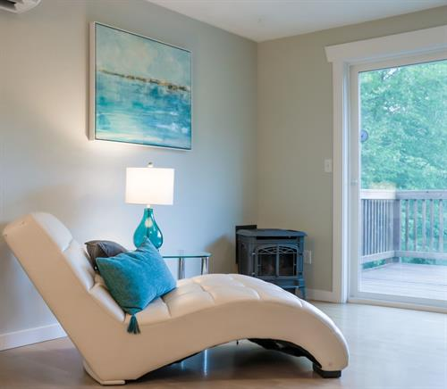 Vashon Island Home Staging with contemporary style. Photo credit:  Krystyka Kaminski