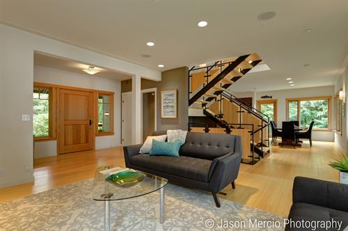 Custom Vashon home Staged and SOLD!