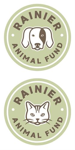 Rainier Animal Fund logo and branding
