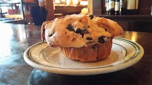 Blueberry Sour Cream Muffin