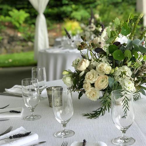 Wedding Centerpiece by Herban Bloom