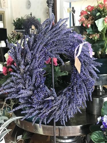 Local Lavender Wreath