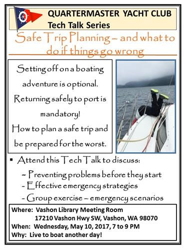 Safe trip planning and what to do if things go wrong Tech ...