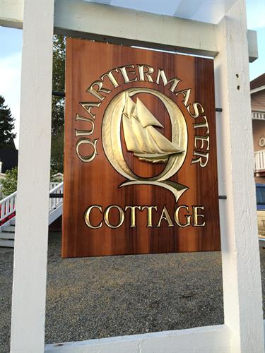 Quartermaster Cottage Sign