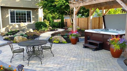 Paver Patio & Walkways