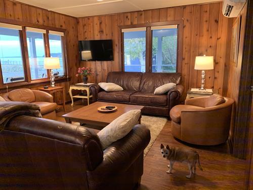 Open, comfortable living room