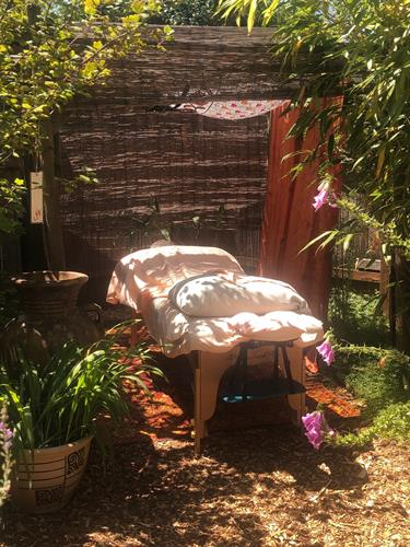 On-site massages... by our licensed, trained massage therapist in a tranquil setting