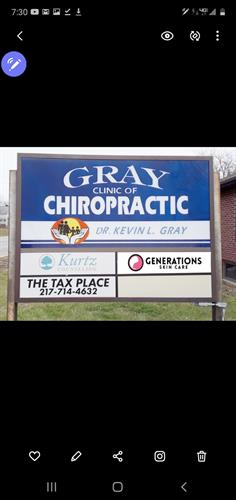 Generations Skincare located in Gray Chiropractic office building