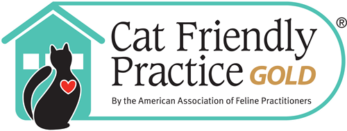 We are a certified Gold Level Cat Friendly Practice.