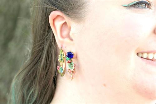 We love Les Nereides earrings, too.