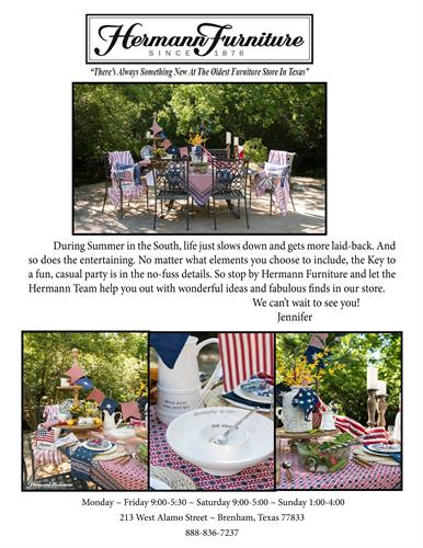 Genial Summer Entertaining With Hermann Furniture
