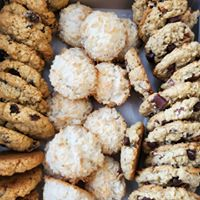 Cowboy Cookies, Coconut Macaroons and Oatmeal Raisin Cookies! YUM!