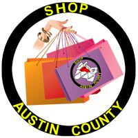 Shop Austin County Logo