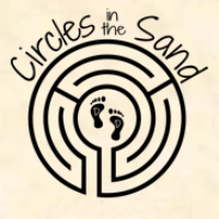 Circles in the Sand - Labyrinth on the Beach