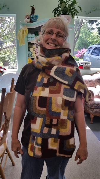 Knit your own Beautiful Scarf like Sue