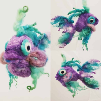 Felted Fish Class