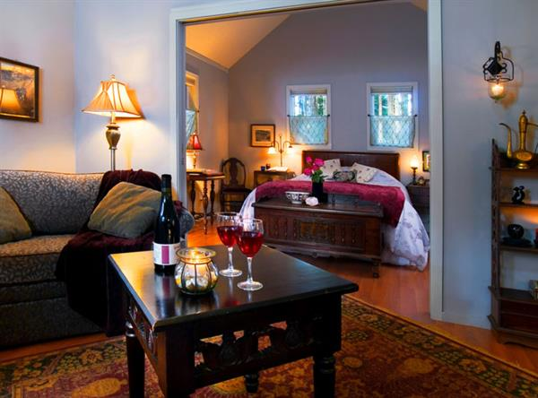 Comfortable luxury, cabin suites filled with art and antiques