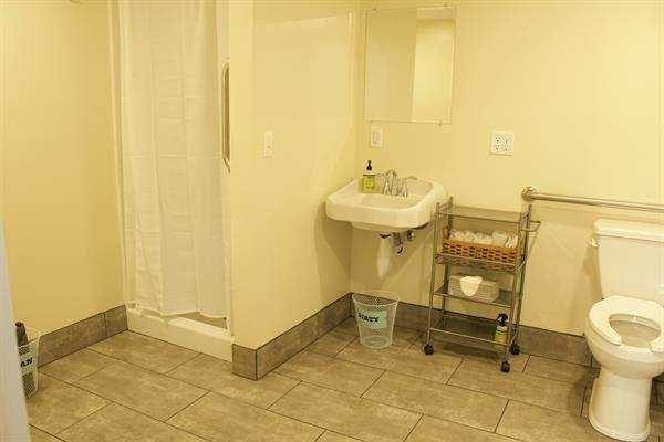 RV bathrooms - coin operated laundry onsite too