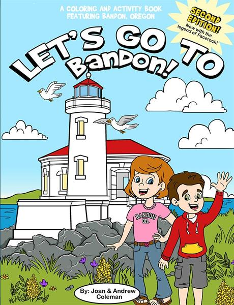 Let's Go to Bandon - Coloring and Activity Book