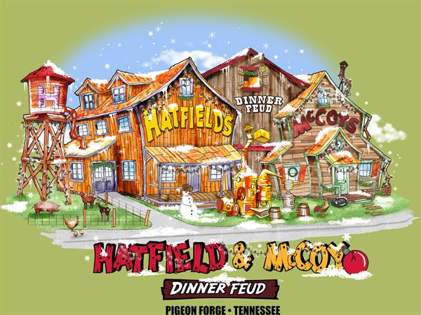 Hatfield & McCoy Commercial Artwork