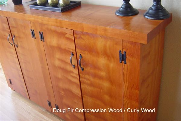 Douglas Fir compression / curly wood