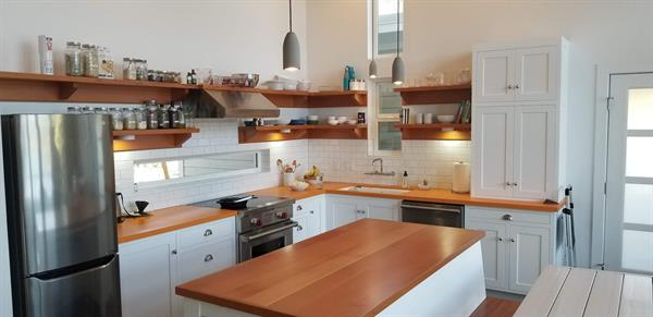 Kitchen made with our Doug Fir Clears