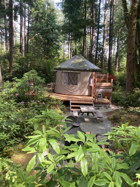 Alseides (yurt experience)