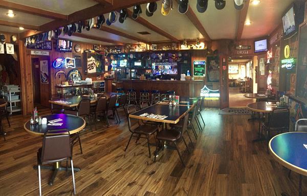 Enjoy and adult beverage, a burger and a game in our Boar's Nest Sports bar.