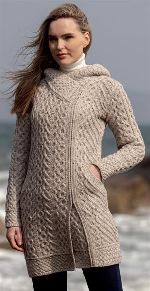 One of our bestsellers in our Irish sweater line.