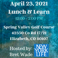 April 23 Lunch & Learn