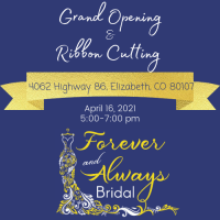 Forever and Always Bridal Grand Opening and Ribbon Cutting