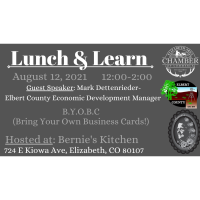 August 12, 2021 Lunch and Learn