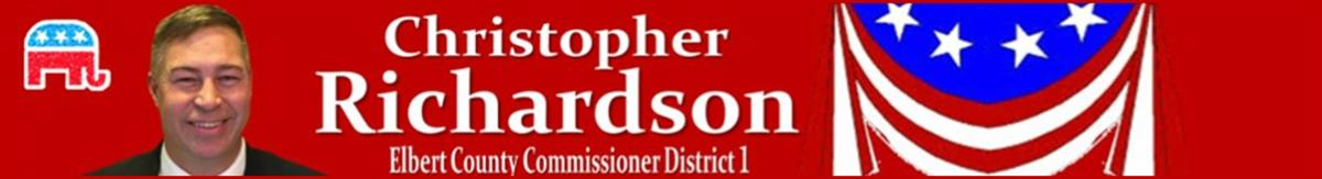 Richardson4Elbert - Commissioner District 1