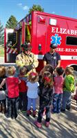 RCE Preschoolers Learn about Fire Safety