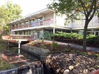Willits Hallowell Center Overlooks Stoney Brook