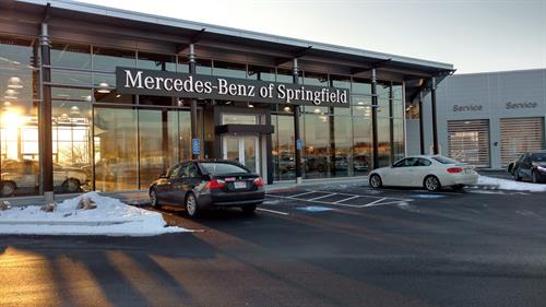 Mercedes Benz of Springfield, designed by BETA