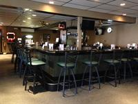 A peek at the bar - seats 24!