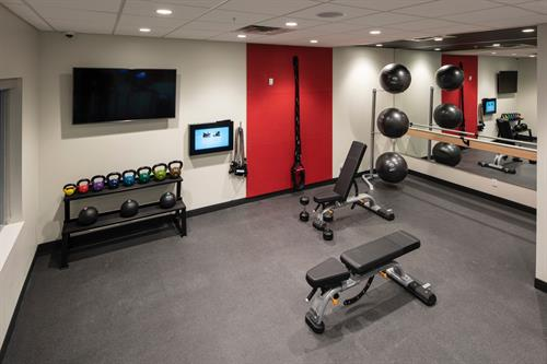 Burn some calories in our fitness room