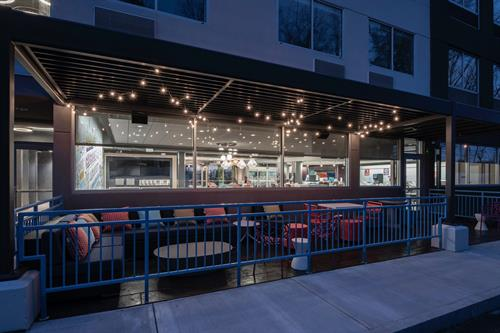 It's a great night to sit on the patio