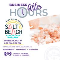 Salt Beach Salt Cave  Business After Hours