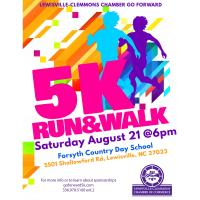 Lewisville-Clemmons Chamber 1st Annual GO FORWARD 5K